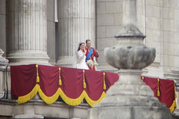 Royal Wedding aurélien balcony by Aurelien Guichard. 29th April 2011
